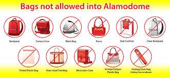 Facility Rules Security Alamodome