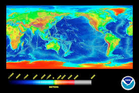 What Do The Colors Denote In A Bathymetric Chart 4b Ocean Depth