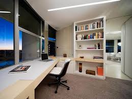 home office decor brown simple. Simple Decorating Ideas For Home Office Interior 4 Decor Throughout Minimalist Design With Brown E