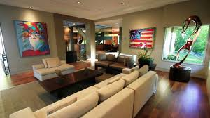 Basement Ideas  Designs With Pictures HGTV - Unfinished basement man cave ideas