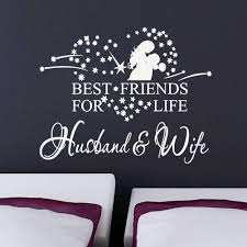 Romantic Bedroom Wall Decor Star Heart Hug Couples Vinyl Romantic Wall Stickers Bedroom Wall