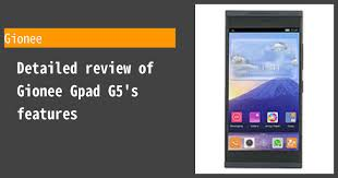 Gionee Gpad G5 Photos, Specs, and ...