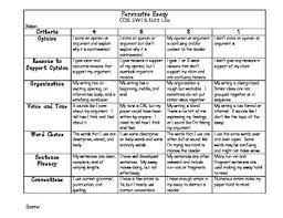 rubrics for writing a paragraph   Google Search