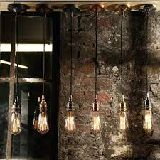 bare bulb pendant light uk industrial hanging ceiling use with vintage bulbs lighting style single suspension
