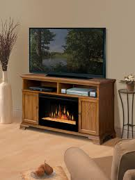 dimplex brookings dark oak electric fireplace a cabinet with glass embers gds25g 1