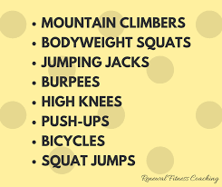 12 minute at home workout routine