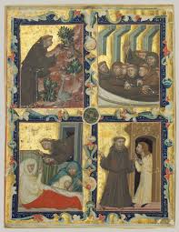 monasticism in western medieval europe essay heilbrunn manuscript leaf scenes from the life of saint francis of assisi