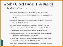11 12 Example Work Cited Page Mla Medforddeli Com