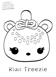 20 Free Printable Num Noms Coloring Pages Within Of New Photograph