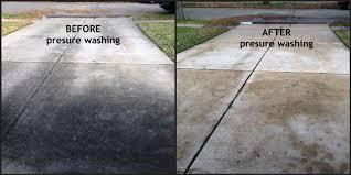 clean concrete concrete patio