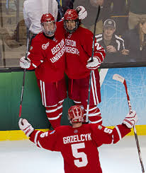 Eichel was asked if he dreamed about playing for the bruins and he left no uncertainty that he'd like to someday suit up in the black and gold, and now it's just a matter of when that could be a reality for the former bu star. Men S Hockey Advances To Ncaa Championship Bu Today Boston University