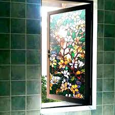 glass cling sheets window stick on stained glass home depot vinyl clings be equipped covering