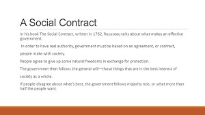 social contract rousseau essay topics