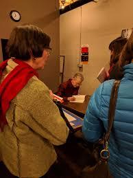 Melinda Mueller and Lori Goldston at Elliot Bay Books — Entre Rios Books