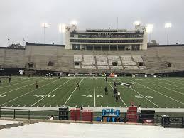 Vanderbilt Seating Chart Vanderbilt Stadium Section S Rateyourseats Com
