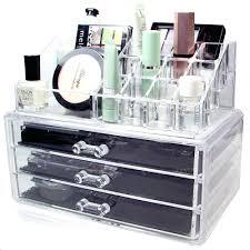 acrylic makeup organizer with drawers cosmetics drawer large uk