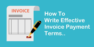 Services Rendered Invoice Adorable How To Write Invoice Payment Terms ProfitBooksnet