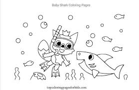 Ask them to count out loud. 12 Free Printable Baby Shark Coloring Pages For Kids By Topcoloringpagesforkids Medium