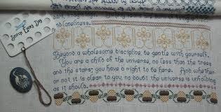Desiderata Cross Stitch Chart Desiderata Monday Raised By Poodles Page 3