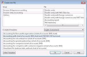 Starting A New Accounting File Banana Accounting Software
