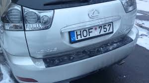 lexus rx400h rear trunk door opening problem