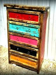 painting furniture ideas color. Multi Color Distressed Furniture Colored Rustic Best Painted Ideas On Distressing Wood Painting