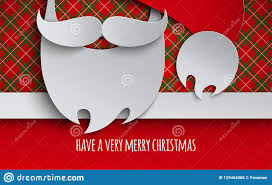 Christmas Greeting Card Design For Holiday Invitation