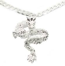 925 sterling silver 20 womens mens necklace and elegant dragon pendant d507a