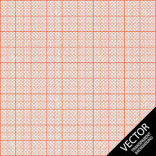 Graph Paper Seamless Pattern Over Transparent Background