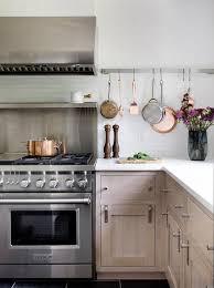 rift sawn oak cabinets with white quartz countertop