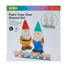 paint your own gnome set kmart