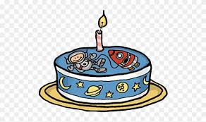 Space Birthday Cake Png Clipart 1745278 Pinclipart