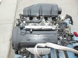 jdm engines transmissions toyota corolla levin ae111 4age 6 jdm engines transmissions toyota corolla levin ae111 4age 6 speed engine 4age 20valve blacktop 6mt osaka jdm motors