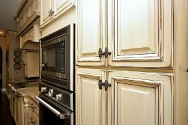 antique home glazing kitchen cabinets cream tips crystal distressed magic brush brown materials best modern design