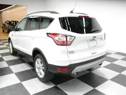ford escape 2018 colors. new 2018 ford escape sel suv (oxford white color)- inventory vehicle details at bob poynter - your seymour, indiana dealer colors
