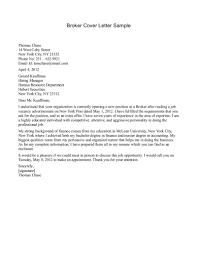 Format Of Insurance Broker Cover Letter Resume Sampl Peppapp