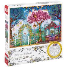 buffalo johanna basford s secret garden bird garden 500 pc puzzle box com