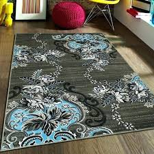blue and gray area rug rugs blue gray area rug reviews attractive brown and for teal blue and gray area rug