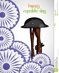 Illustration Of Elements Of India Republic Day Stock Vector