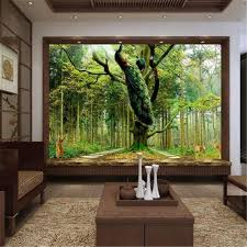 office backdrops. Beibehang Decor Photo Backdrops Wallpaper For Living Room Peacock Tree Deer Office Bathroom Hotel Wall Mural S