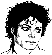 Small Picture Coloring Pages Michael Jackson Drawing