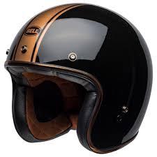 Bell 500 Helmet Size Chart Bell Custom 500 Deluxe Helmet Rally Black Bronze