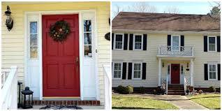 white front door yellow house. Cottage Red French Doors Exterior Yellow House White Trim - Google Search Front Door V