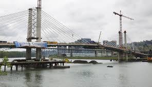 Portland Milwaukie Light Rail Bridge Car Free Bridge Named Tilikum Crossing Columbian Com