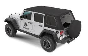 bestop trp pro soft top for 07 18 jeep wrangler unlimited 4 door quadratec