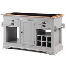 grey painted furnitureKansas grey painted furniture large granite top kitchen island