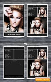 Model Comp Card Template 1164213 Free Download Free