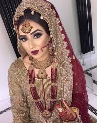 heavy bridal makeup