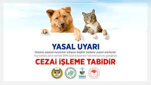"""Ο χρήστης Tokat Belediyesi στο Twitter: """"❗️Sokakta yaşayan hayvanlar  sahipsiz değildir. Sokaklar yaşam alanlarıdır. Hayvanlara zarar vermek 5199  sayılı Hayvanları Koruma Kanunu gereğince cezai işleme tabidir.🐶🐱  ❗️Detaylı Bilgi için Veteriner ..."""