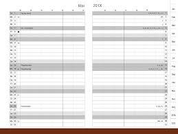 Monthly Calendar 2013 A6 Monthly Calendar Classic 2019 2021